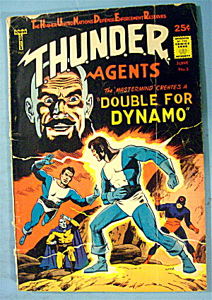 Thunder Comic #5 June 1966 Double For Dynamo