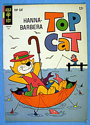 Hanna Barbera Top Cat Comic #15 July 1965 (Image1)