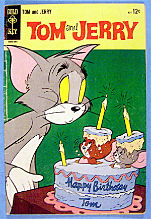 Tom And Jerry Comic #240 May 1968 Too Many Stowaways (Image1)