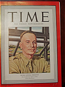 Time Magazine - May 4, 1942 - General Brereton Cover (Image1)