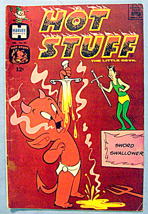 Hot Stuff Comic #88 February 1969 The Little Devil (Image1)