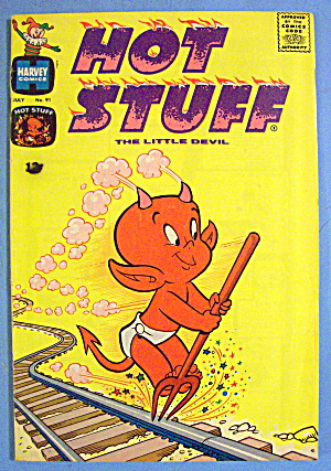 Hot Stuff Comic #91 July 1969 The Little Devil (Image1)