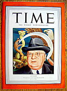 Time Magazine-may 11, 1942-litvinoff Cover