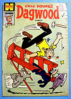 Dagwood Comic #102 July 1959 Woof Woof