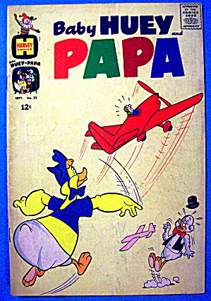Baby Huey & Papa Comic #25 September 1966 (Image1)