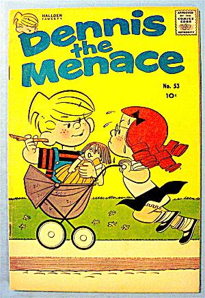 Dennis The Menace #53 August 1961 Papa Dennis (Image1)