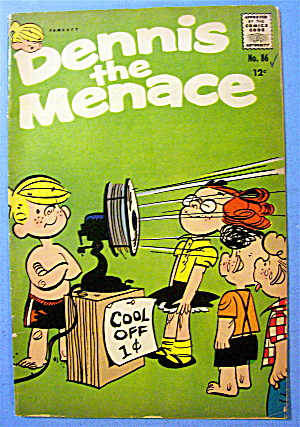 Dennis The Menace Comic #86 September 1966 Kitty-Pillar (Image1)