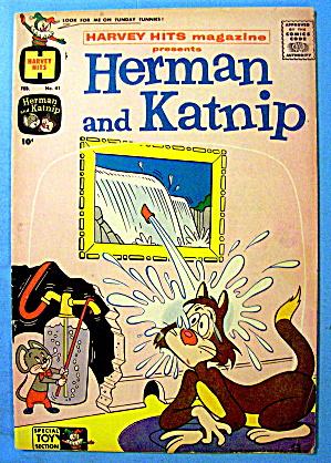 Herman And Katnip Comic #41 February 1961 The Wind Up (Image1)