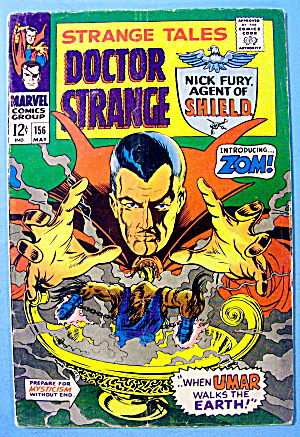Doctor Strange Comic #156 May 1966 The Tribunal