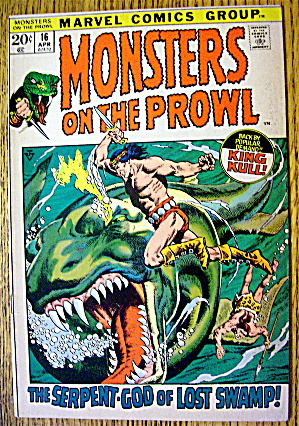 Monsters On The Prowl #16 April 1972 Forbidden Swamp (Image1)