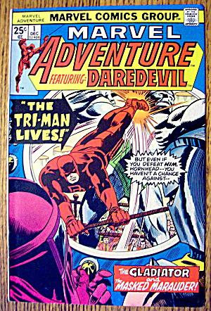 Marvel Adventure & DareDevil Comic #1 December 1975 (Image1)