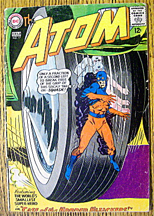 Atom Comic #17 March 1965 Case Of The Hooded Hijackers