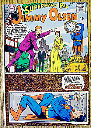 Dc Comics Superman's Pal Jimmy Olsen #112 July 1968