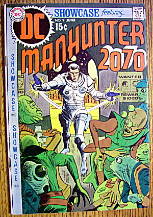 Manhunter 2070 Comic #91 June 1970