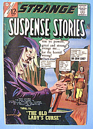 Suspense Stories Comic #71 July 1964 Rendezvous