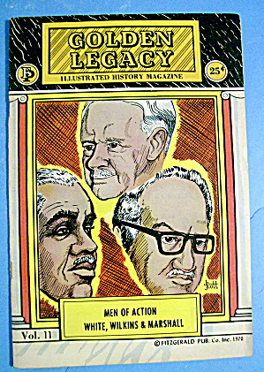 Golden Legacy Comic 1970 Men Of Action White & More (Image1)