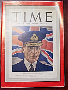 Time Magazine - April 28, 1941 - Admiral Noble Cover