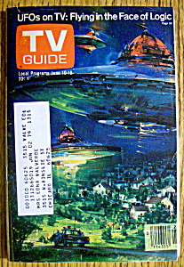 Tv Guide-june 10-16, 1978-ufos On Tv