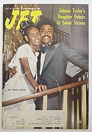 Jet Magazine July 24, 1975 Johnnie Taylor & Daughter