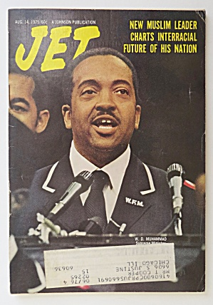 Jet Magazine August 14, 1975 New Muslim Leader