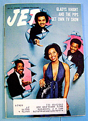 Jet Magazine July 31, 1975 Glady's Knight And The Pips
