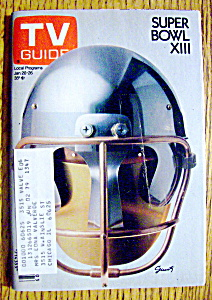 Tv Guide-january 20-26, 1979-super Bowl Xiii