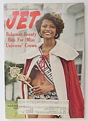 Jet Magazine October 2, 1975 Sharon Smith