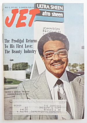 Jet Magazine November 6, 1975 George Johnson
