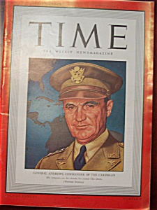 Time Magazine -september 1, 1941- General Andrews Cover