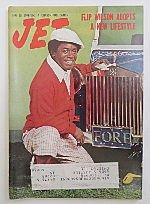 Jet Magazine January 15, 1976 Flip Wilson (Image1)