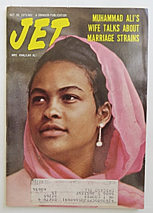 Jet Magazine October 30, 1975 Muhammad Ali's Wife