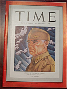 Time Magazine -november 30, 1942- Admiral Halsey Cover