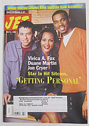 Jet Magazine July 6, 1998 Getting Personal