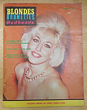 Blondes Brunettes Redheads Magazine 1964 Swimsuits  (Image1)