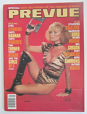 Prevue Magazine April/may 1985 New Sex Sirens