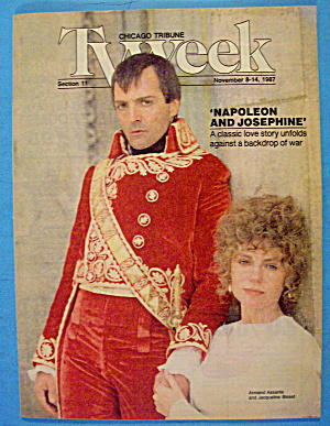 Tv Week November 8-14, 1987 Napoleon & Josephine