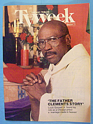 Tv Week December 13-19, 1987 Father Clements Story