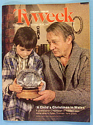 TV Week December 20-26, 1987 Child's Christmas In Wales (Image1)