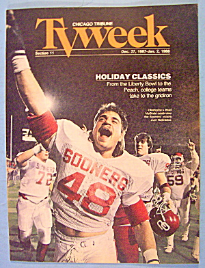Tv Week December 27-january 2, 1987-1988 Liberty Bowl