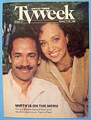 Tv Week January 17-23, 1988 Tim Maxwell