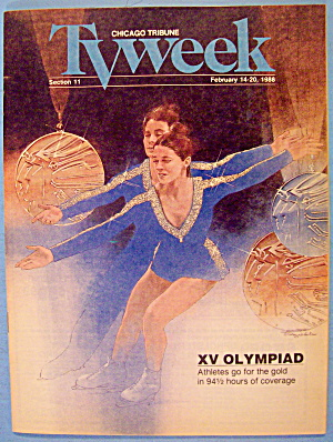 Tv Week February 14-20, 1988 Xv Olympiad