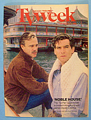 Tv Week February 21-27, 1988 Noble House