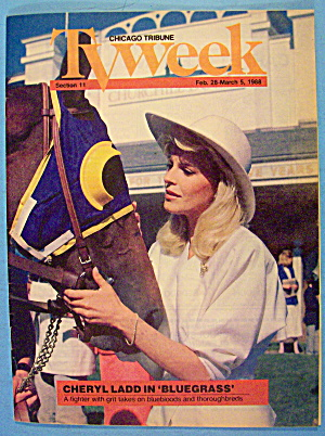 Tv Week February 28-march 5, 1988 Cheryl Ladd:bluegrass