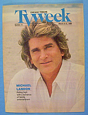Tv Week March 6-12, 1988 Michael Landon