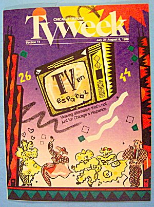 Tv Week July 31-august 6, 1988 Tv Espanol