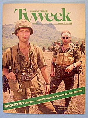 Tv Week August 7-13, 1988 Shooter: Vietnam