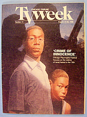 Tv Week August 14-20, 1988 Crime Of Innocence