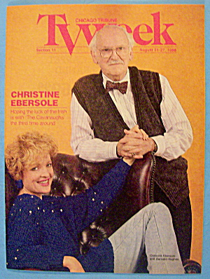 TV Week August 21-27, 1988 Christine Ebersole (Image1)