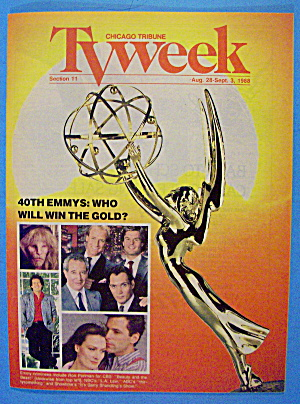 Tv Week August 28- September 3, 1988 40th Emmys