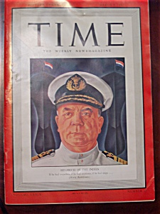 Time Magazine - March 9, 1942 - Helfrich Cover
